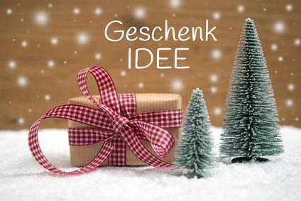 Geschenk Idee-Weihnachtlicher Hintergrund